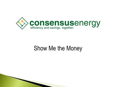 AECS, LLC Show Me the Money. AECS, LLC Energy Efficiency.