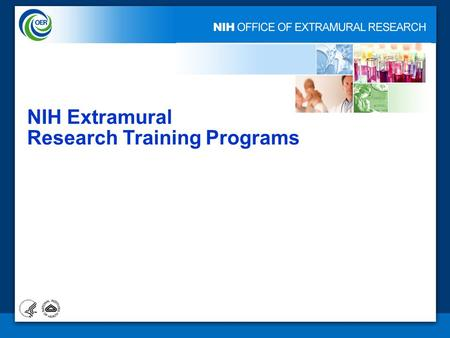 1 NIH Extramural Research Training Programs. 2 Predoctoral Individual NRSA (F31) Predoctoral Individual MD/PhD NRSA (F30) Postdoctoral Institutional Training.