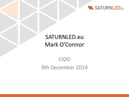 SATURNLED.eu Mark O'Connor