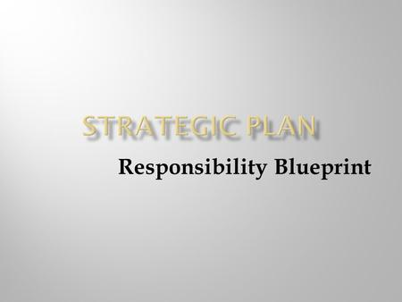 Responsibility Blueprint. Names of Team Members and area of expertise Table Of Contents Identify Team Member Responsibility Executive Summary One Page.