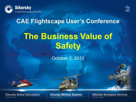 CAE Flightscape User's Conference