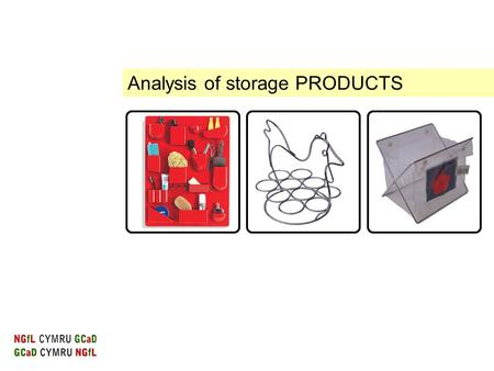 Analysis of storage PRODUCTS. Product analysis Investigating and understanding how shape, style and proportion affect the appearance of a product are.