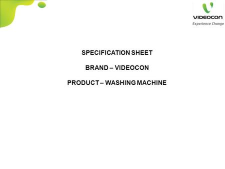 big_thumb product specification ppt video online download videocon washing machine wiring diagram at panicattacktreatment.co