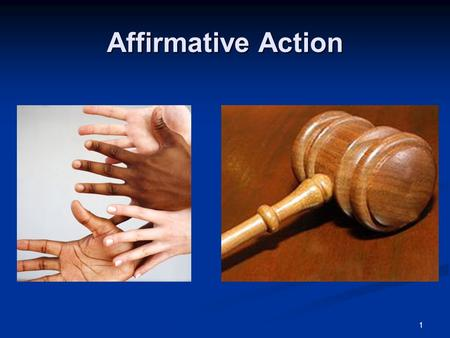 1 Affirmative Action. 2 John F. Kennedy: Executive Order 10925 (1961) Used affirmative action for the first time by instructing federal contractors to.
