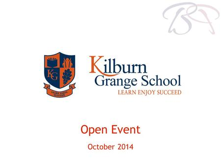 Open Event October 2014. Tel: 0845 459 0113 Welcome to our first open event!
