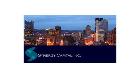 Executive Summary Advantages of Investing in Real Estate Pittsburgh's Posed for Growth Key Investment Considerations Experienced Management Team Investment.