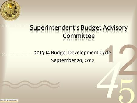 2013-14 Budget Development Cycle September 20, 2012.