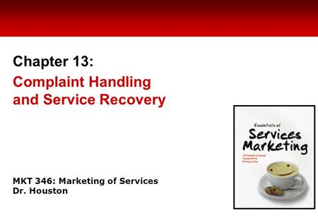 complaint handling and service recovery The professional and efficient handling of complaints is a critical factor for all organisations, in both the private and the public sector.