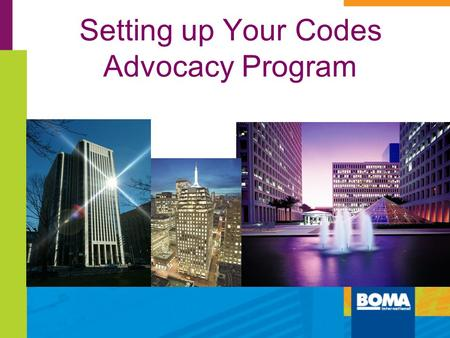 Setting up Your Codes Advocacy Program 280 Plaza, Columbus, Ohio CBRE.