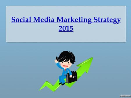Social Media Marketing Strategy 2015. What Is Social Media ? Did you know the average person spends 4 years looking down at their cell phone over a lifetime?