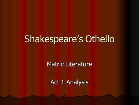 analysis iago character shakespeare s othello