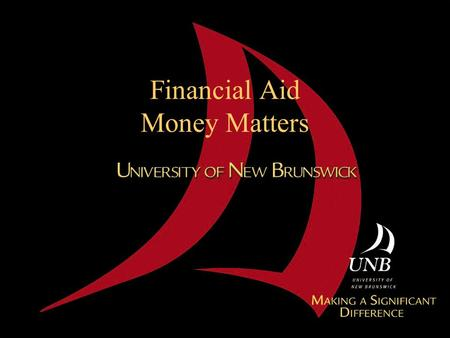 Financial Aid Money Matters. Part 1 Costs of Attendance.