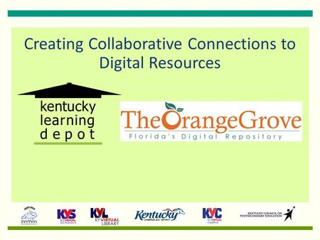 Creating Collaborative Connections to Digital Resources.