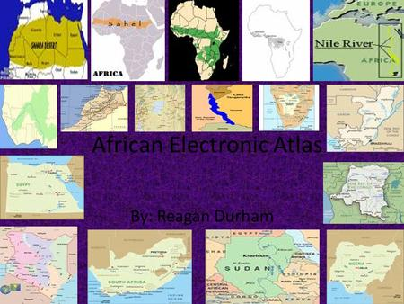 African Electronic Atlas