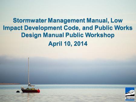 Kurt Nabbefeld Senior Planner Kim Weil Environmental Planner Bill Reilly Sswu Manager May 18