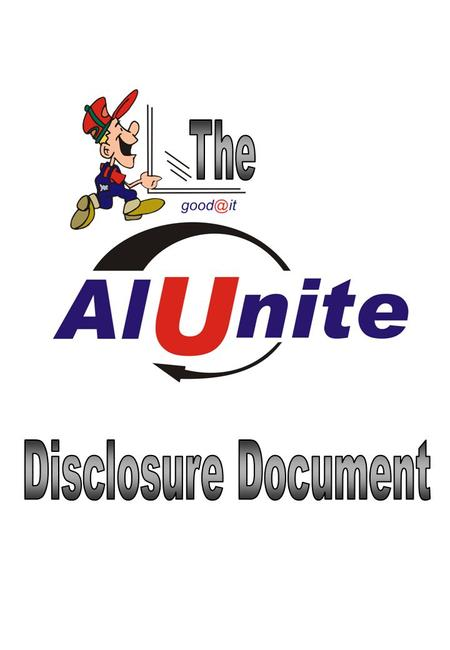 1.Introduction 2.Key Franchise Details 3.Background of the Alunite Franchise 4.Information Regarding Current Franchisees 5.Profile of the Ideal Alunite.