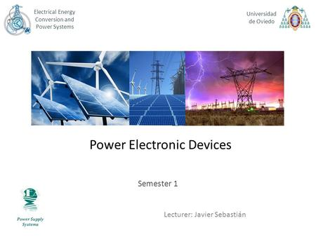 <strong>Power</strong> Electronic Devices