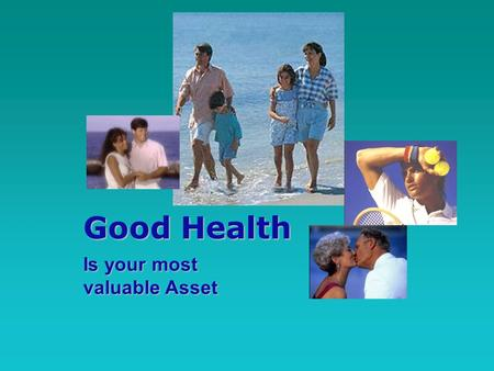 Good Health Is your most valuable Asset. for maintaining optimum good health the world is turning increasingly to preventative health and wellness solutions,