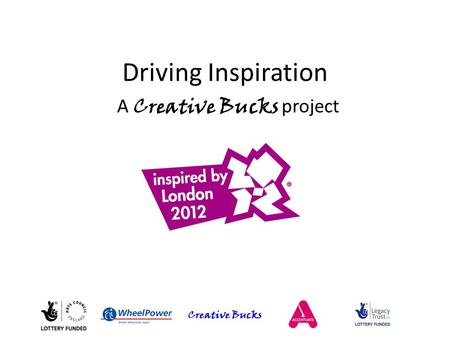 Creative Bucks Driving Inspiration A Creative Bucks project.