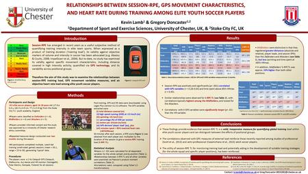  These findings provide evidence that session-RPE TL is a valid, inexpensive measure for quantifying global training load within elite youth soccer players.