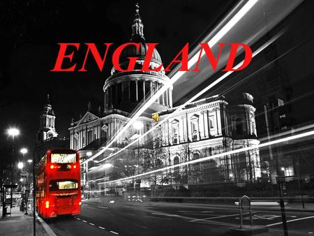 "ENGLAND. The etymology The etymology of the name - the name ENGLAND comes from the Old English name Englaland. Englaland means "" land of the Angles""."