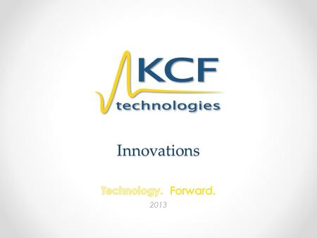 Innovations Technology. Forward. 2013.