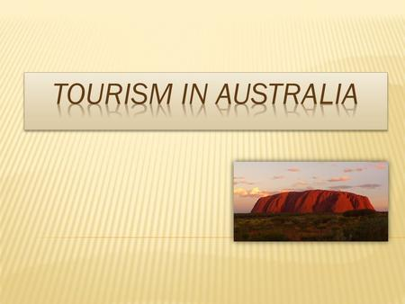  In 2010 Australia had 30,1 billions of dollars as income from tourism and was on 8th place.