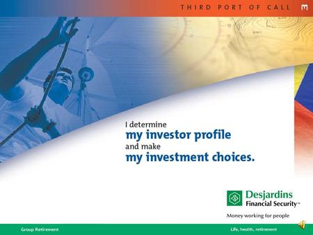 2 A Three-Step Approach 1.Fill out the questionnaire 2.Determine your investor profile 3.Choose your investments.