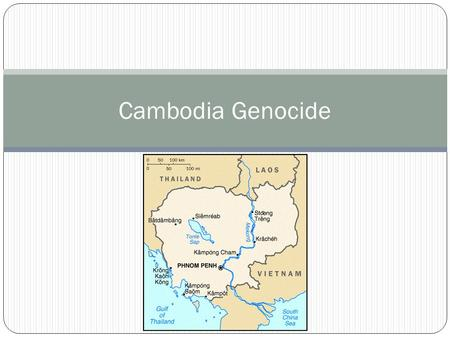 Cambodia Genocide. Perpetrators When: April 17, 1975 – January 7, 1979 Who: Khmer Rouge (Marxism/Maoism) Pol Pot (1925-1998) Secretary General Khmer Rouge.