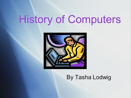 the beginning of computers history