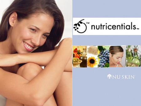 Nutricentials. Nutrition from the Outside in GOOD BAD All of the Good None of the Bad All of the Good.