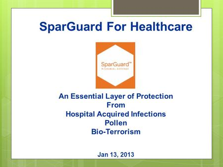 SparGuard For Healthcare
