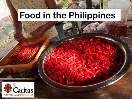 Food in the Philippines. The most popular food in the Philippines is grown here. What do you think it is?