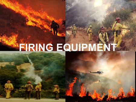 FIRING EQUIPMENT SL 5-1-1. Hand Firing Devices Classified as a flammable solid –Consult MSDS 4320.18 SL2.