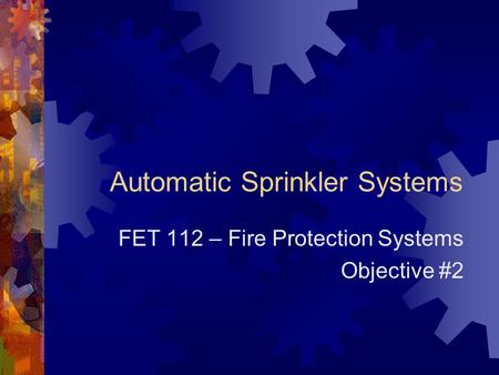 fire protection system basics pdf