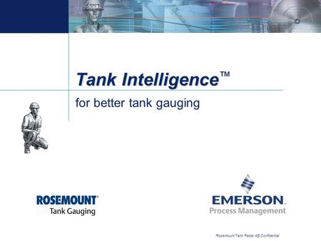 for better tank gauging
