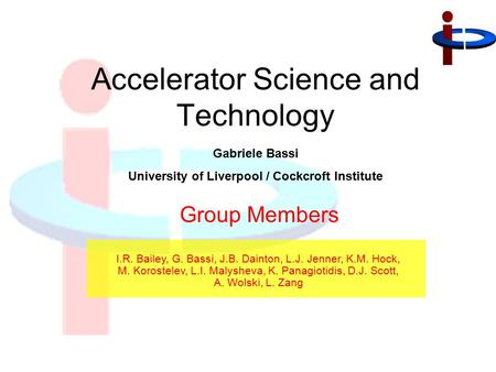 Accelerator Science and Technology
