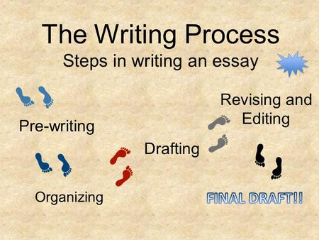 the five prewriting steps essay