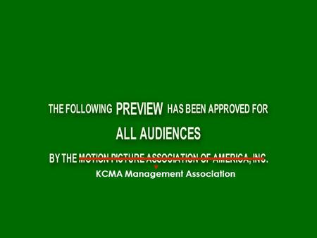 KCMA Management Association. There is an ancient tale of a fabled gathering that is to occur...