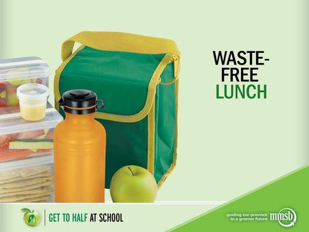 Why pack a waste-free lunch? You will feel great about helping the earth by reducing the garbage you throw away. To keep your school yard cleaner and.