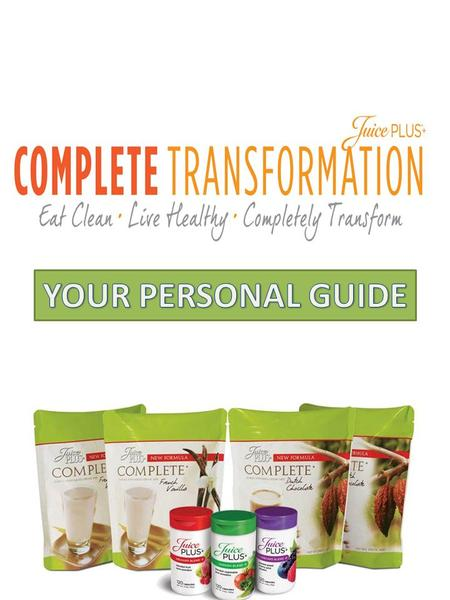 NEW CUSTOMER QUESTIONNAIRE Welcome to the Juice Plus+ community and CONGRATULATIONS for beginning your journey down the road to better health. As.