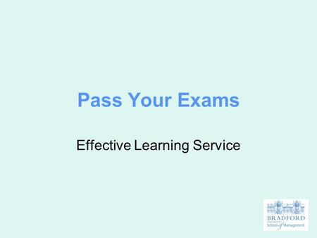 Effective Learning Service