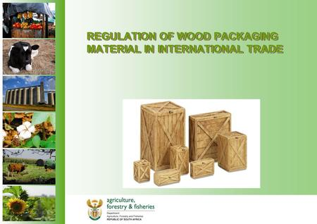 REGULATION OF WOOD PACKAGING MATERIAL IN INTERNATIONAL TRADE.