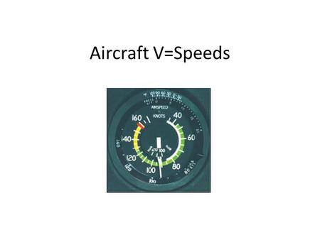 Aircraft V=Speeds. 100 Knots =115 MPH 100 MPH = 87 knots.