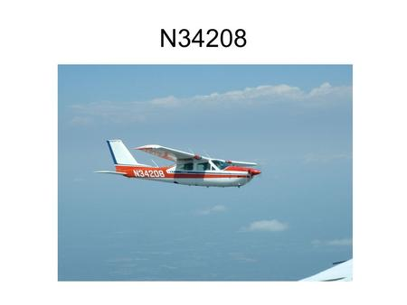N34208. Ground Training Notes For Cessna Cardinal RG.