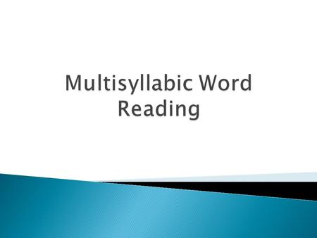 Many big words occur infrequently, but when they do occur they carry much of the meaning and content of what is being read. -Cunningham, 1998 Why is instruction.