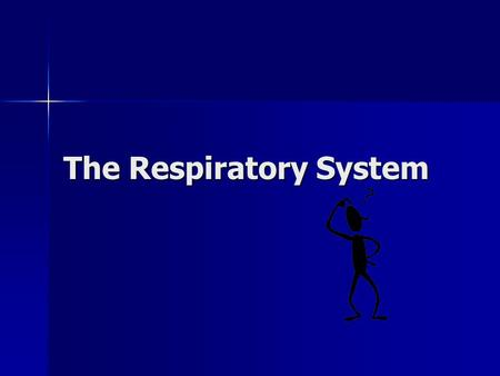 The Respiratory System Why is breathing important to staying alive? You can only live for a few minutes without air. We need air to survive, because.