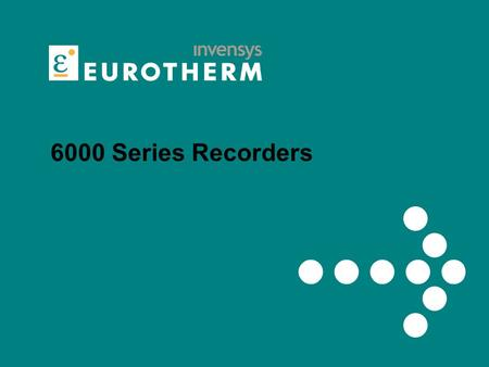 6000 Series Recorders. The Best Paperless Graphic Recorder in the World.