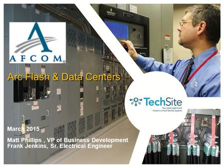Arc Flash & Data Centers