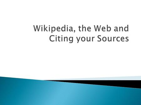  A wiki is a collaborative Web site that combines the collective work of many authors.  A wiki allows anyone to edit, delete or modify content that.
